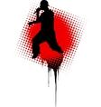 rap music illustration vector image vector image