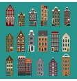 Typical European Houses vector image