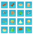 sri lanka icon blue app vector image