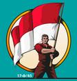 patriot vector image vector image