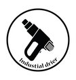 Icon of electric industrial dryer vector image