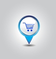 shopping pins vector image
