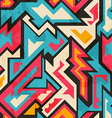 colored african seamless pattern vector image