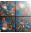 Colour blurred light spot EPS 10 vector image