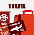 holiday travel vector image
