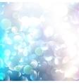 Glittering llight on bokeh background vector image