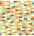 brick pattern seamless brick wall vector image