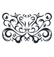 Ornament in form of the rectangle vector image