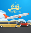Vacation concept ilustration vector image