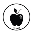 Icon of Apple vector image
