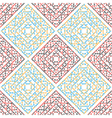 abstract seamless pattern red blue vector image vector image