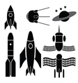 space ships vector image