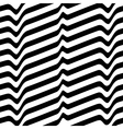 Monochrome movement White black abstract wave vector image
