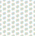 Seamless Pattern of Atomic Symbols for Science vector image vector image