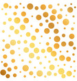 golden circles pattern background can be used as vector image