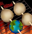 Global Grill vector image