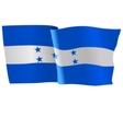 flag of Honduras vector image vector image