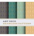 Art Deco seamless pattern 05 vector image