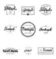 Fashion Boutique Premium - badge logo sticker vector image