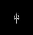 Trident of Lord Shiva- Hinduism vector image