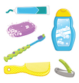 Bathroom Equipments vector image