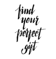 Find perfect gift vector image