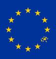 Eurozone vector image vector image