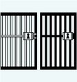 Prison jail vector image vector image