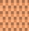 brown checked seamless pattern vector image