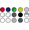 paint tin icons vector image vector image