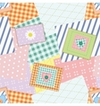 patchwork vector image vector image