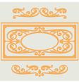 background swirl pattern vector image