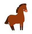 Cartoon pony vector image