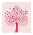 Decorative Tree Background vector image