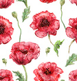 seamless texture with watercolor painting of vector image