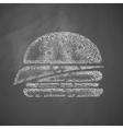 sandwich icon vector image
