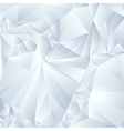 abstract gray triangles background vector image