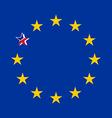 Brexit vector image vector image