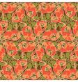 lizards floral vector image
