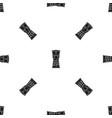 tamtam pattern seamless black vector image