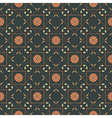 seamless geometric pattern with arrows and spears vector image