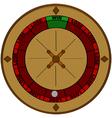 Gambling odds vector image