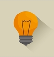 bulb idea news graphic vector image