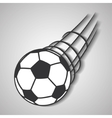 ball of soccer sport design vector image