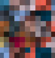 Abstract background in pixel style vector image