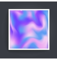 Abstract background holographic vector image