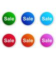 Sale label vector image