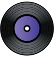 record vector image vector image