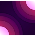 Abstract purple round shapes background vector image