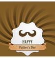 Fathers Day abstract retro vintage background vector image